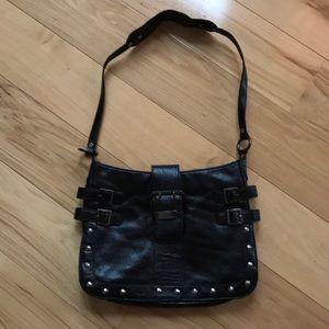 Guess leather shoulder bag.